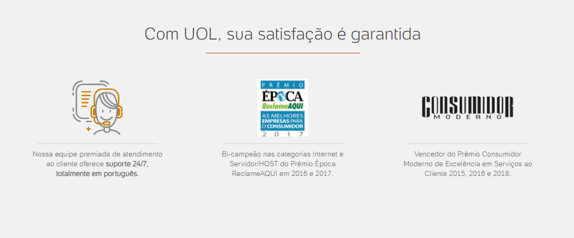 Review do UOL Host