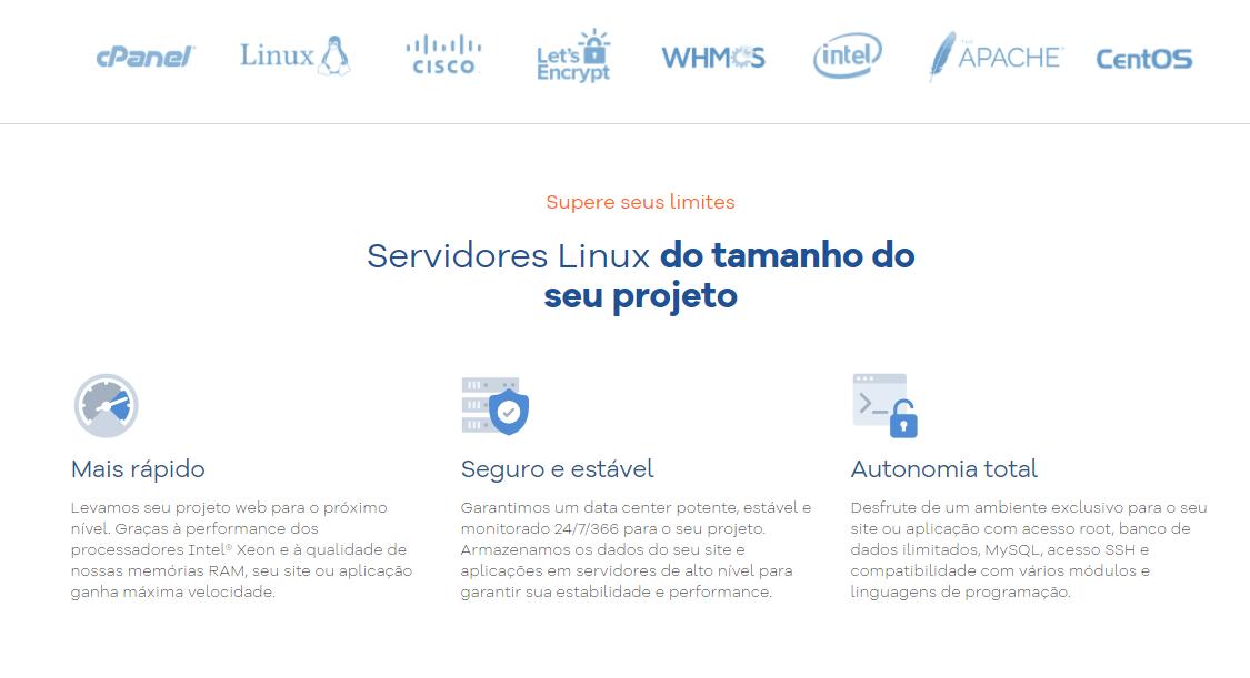 HostGator Servidor Dedicado Linux