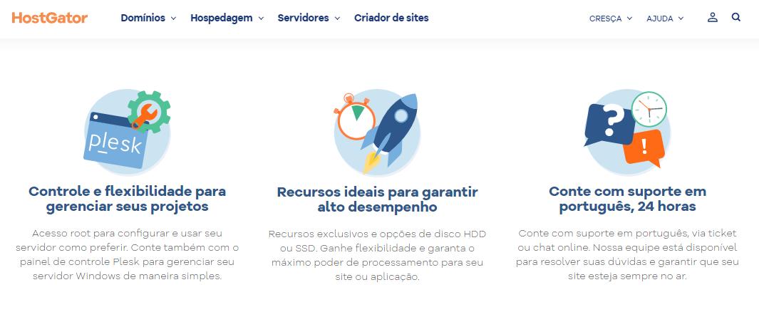 HostGator Servidor Dedicado Windows