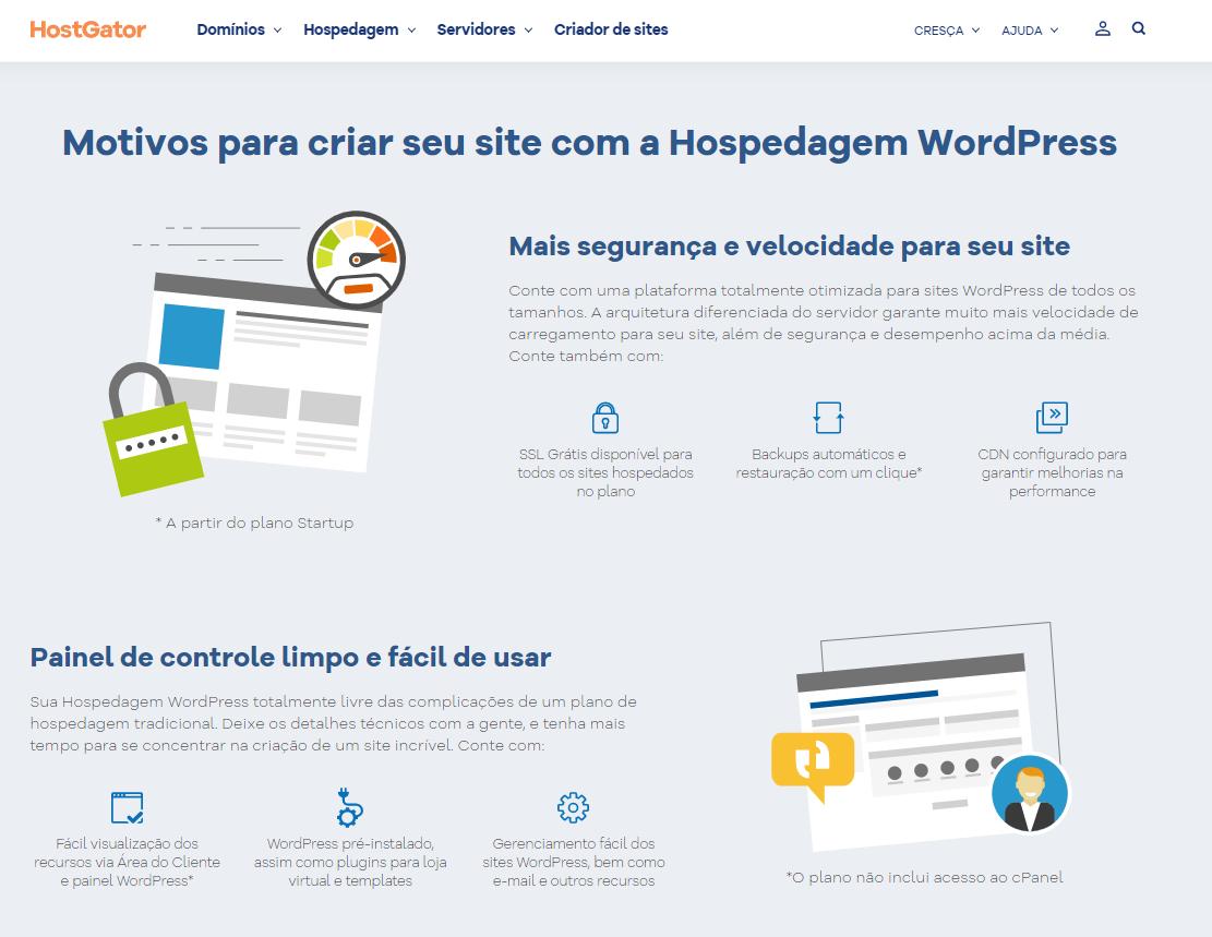 O que é a Hospedagem WordPress