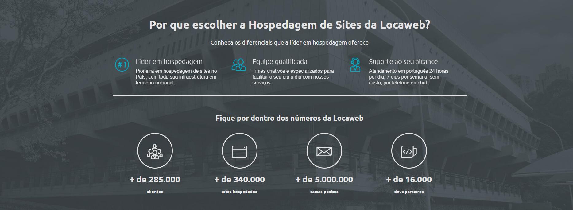 O que é localweb Site de hospedagem