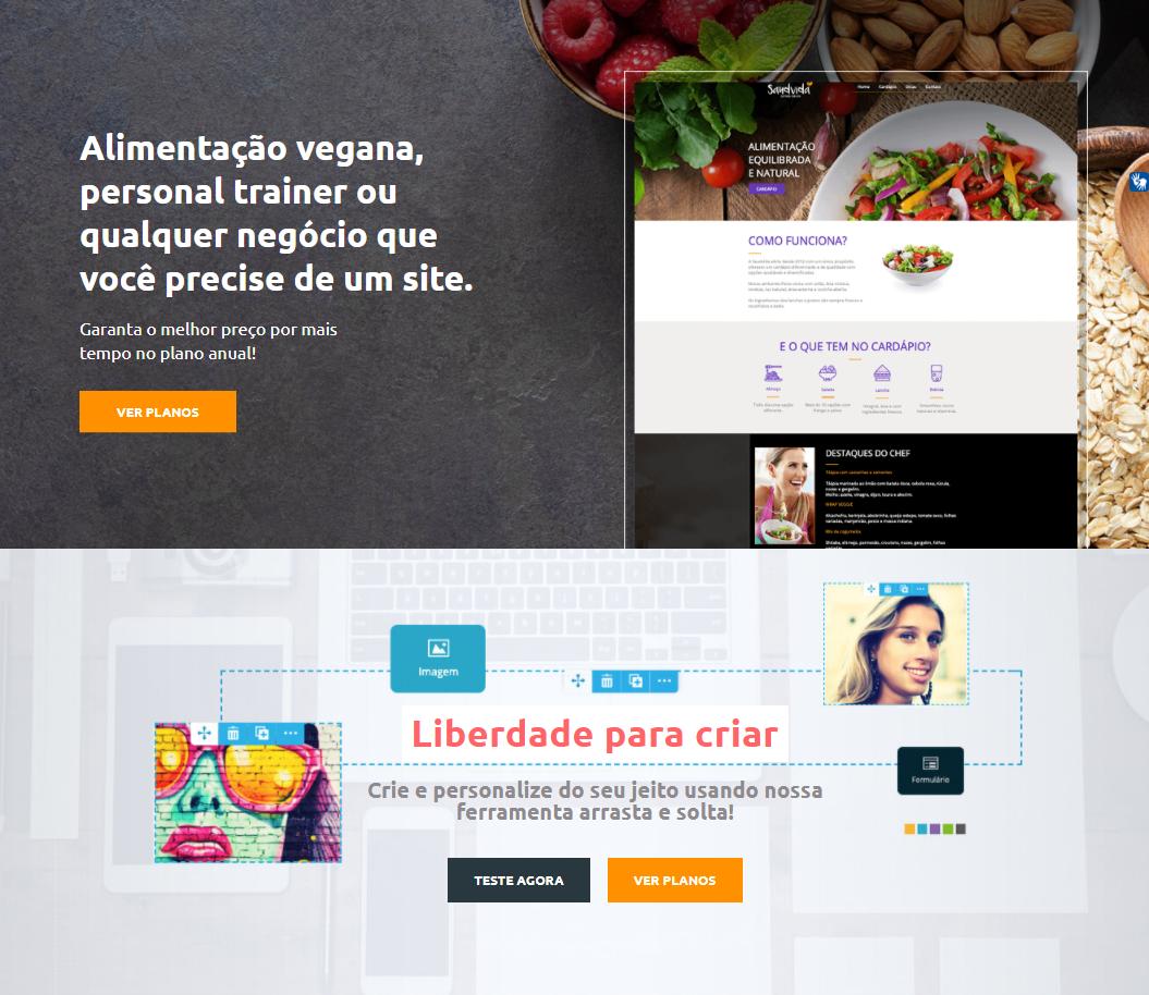 Locaweb Criador de Sites