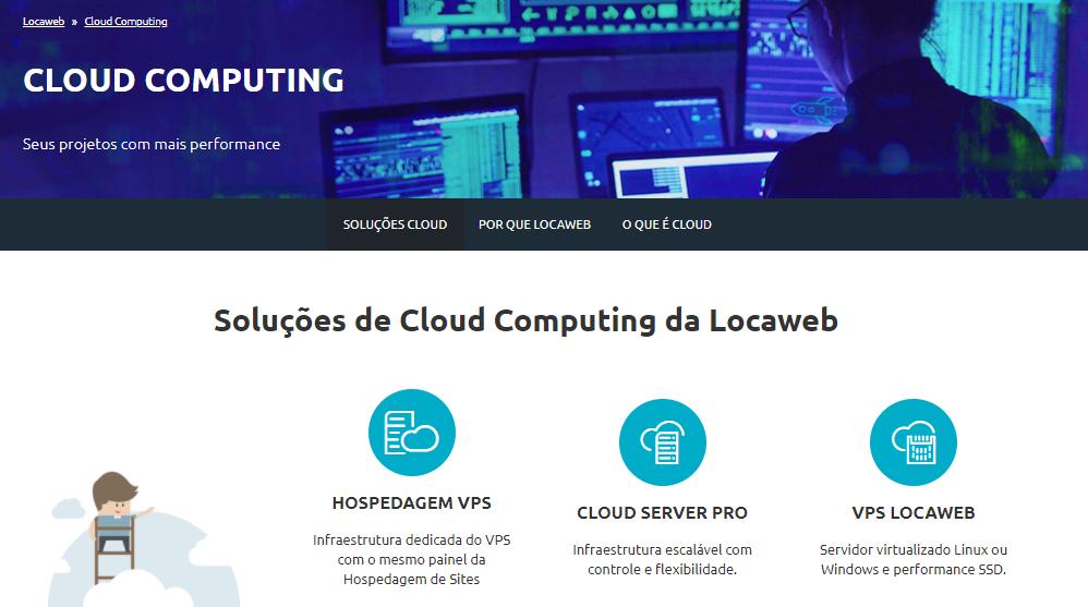 O que éCloud Computing loacaweb