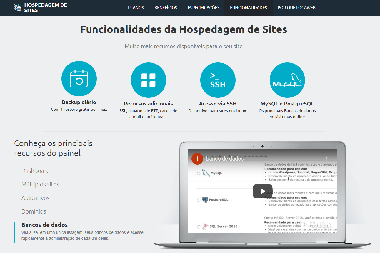 Locaweb Hospedagem de Sites