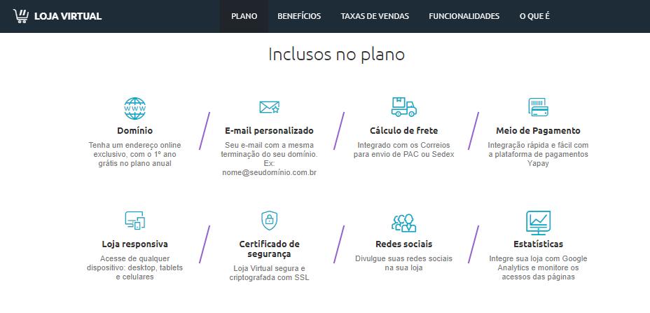 Locaweb Loja Virtual