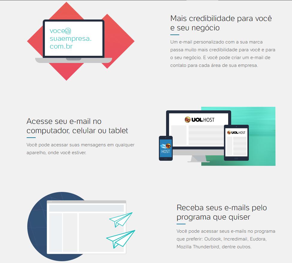 UOL Host E-mail Profissional Brasil
