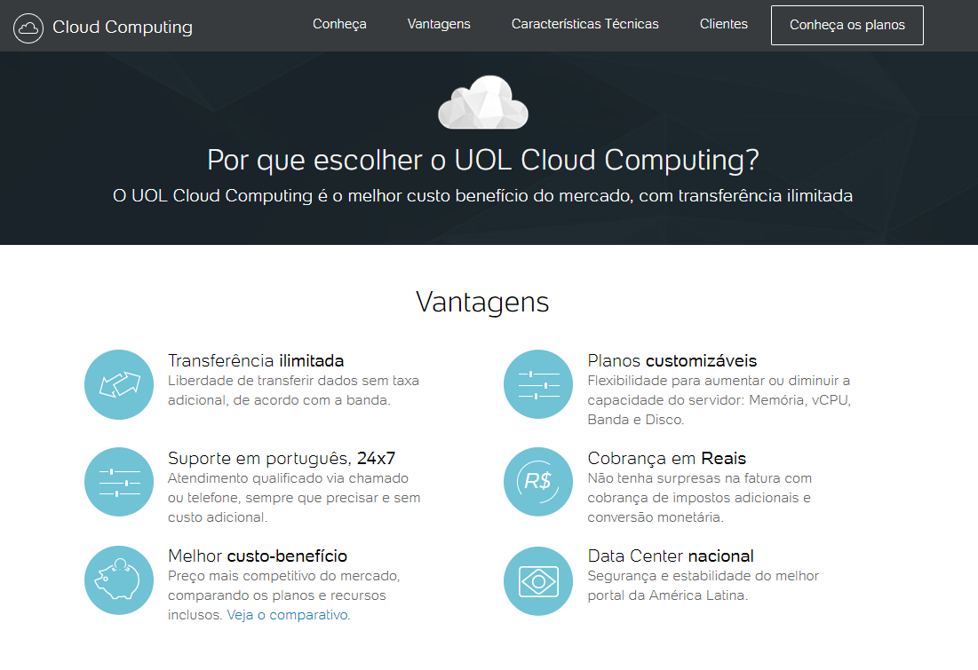 uolhost cloud computing