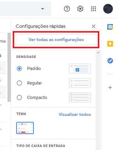 Configurar o envio dos e-mails hostgator